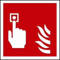 Non-Branded Fire Alarm Symbol Sign product image