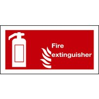 Non-Branded Fire Extinguisher Sign product image