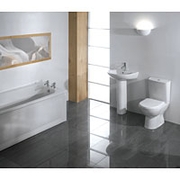 Kaldewei Grove Compact Bathroom Suite White