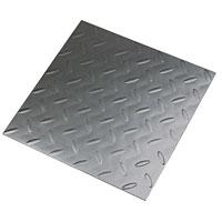 Interlock durable floor tile slate black laminate flooring for Diamond plate laminate flooring