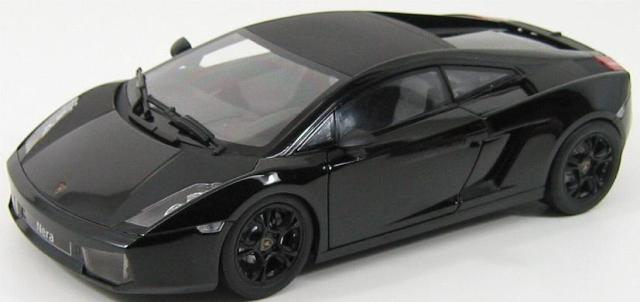 Lamborghini Gallardo Nera 2007 Black