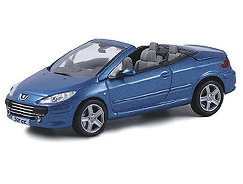 norev peugeot 307 cc in metallic blue 1 43 scale diecast model cars other review compare. Black Bedroom Furniture Sets. Home Design Ideas