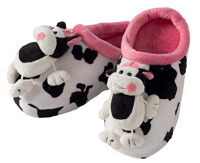 Animal SlipPersonalisedCow Size 8