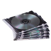 NULL Slimline CD Jewel Cases product image