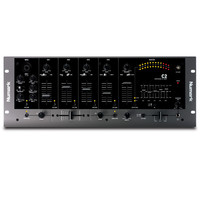 Numark C2 4 Channel Rack DJ Mixer with 5-Band EQ product image