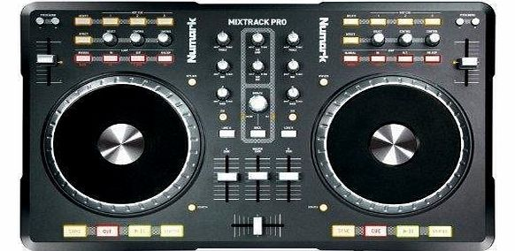 Numark Mixtrack Pro DJ Controller with Integrated Audio Interface product image