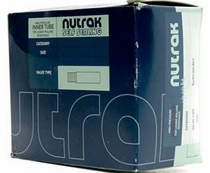 Nutrak 12 x 1.75-2.125 inch Schrader inner tube with 45 degree bent valve