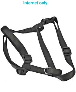 Padded Dog Harness Medium - Black