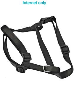 Padded Dog Harness Small - Black
