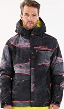O Neill, 1297[^]250787 Mens Area 52 Jacket - Red AOP