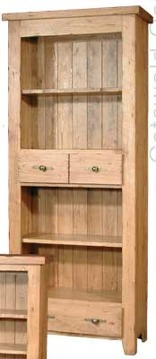 BOOKCASE TALL 71IN x 29.5IN WITH DRAWER