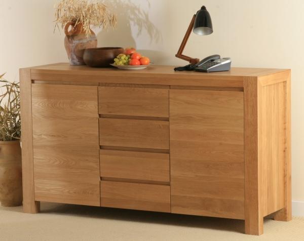 oak furniture land pablo solid oak 2 door 4 drawer sideboard review compare prices buy online. Black Bedroom Furniture Sets. Home Design Ideas