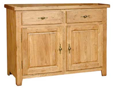SIDEBOARD 2 DRAWER 2 DOOR COTSWOLD RUSTIC