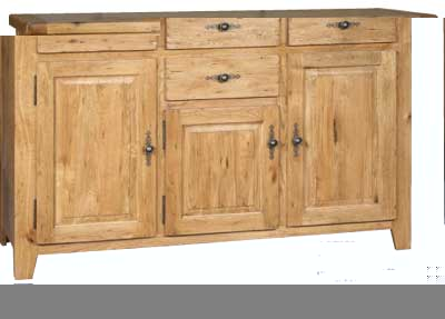 SIDEBOARD TRIPLE 4 DRAWER 3 DOOR COTSWOLD