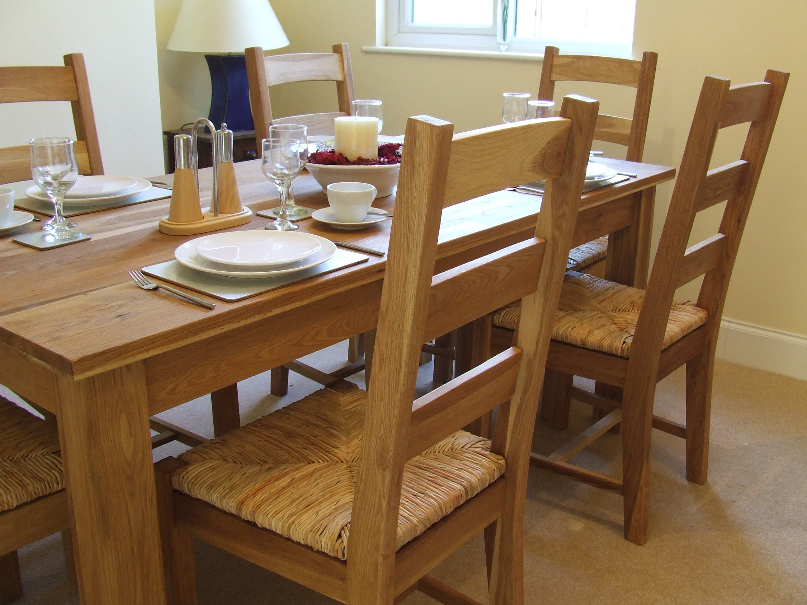 rustic dining room table seats 8