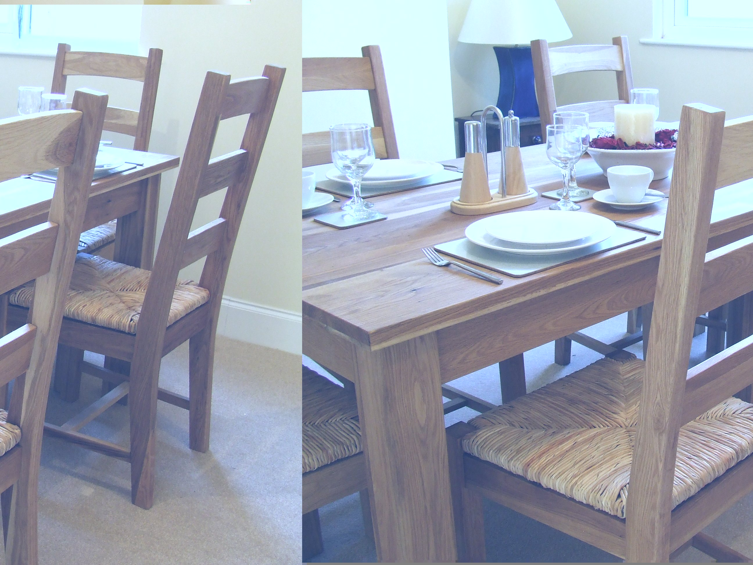 Perfect Solid Oak Dining Table Set 2592 x 1944 · 698 kB · jpeg