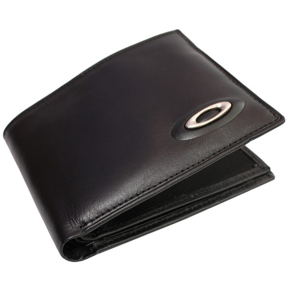 Oakley Black Leather Wallet by product image