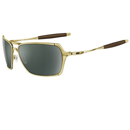 Oakley Men's Sunglasses yellow-blue Iridium black frames-10877