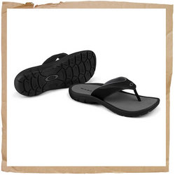 Oakley Supercoil Flip Flop  This Go-anywhere Casual Takes to Water and Dries Fast   Secure  Comforta - CLICK FOR MORE INFORMATION