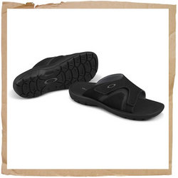 Oakley Supercoil Slide Sandal  Water-friendly Design That Does Not Sog Out on You.  EVA Shock Absorp - CLICK FOR MORE INFORMATION