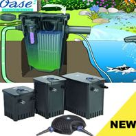 Oase Filtomatic Filter 25000 and Aquamax Eco
