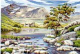 Oasis Reeves - Paint By Numbers Large Scottish Glen product image