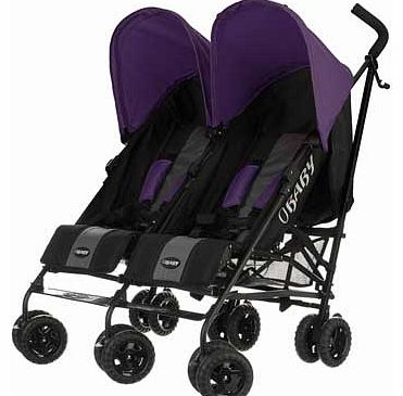 Purple Baby Weavers Car Seat