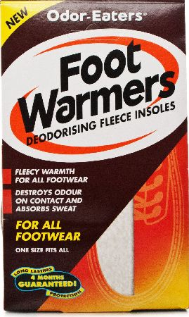 Odor Eaters, 2102[^]0082894 OdorEaters Foot Warmers