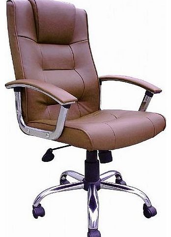 Leather Faced Executive Chair