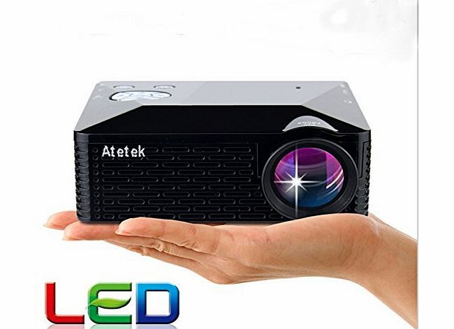 Office Supply Store Aketek?® Multimedia USB AV HDMI VGA Home Theater LED Digital Video Game Pico Mini Projector(Black) Color: Black Size: latest projector, B?roartikel