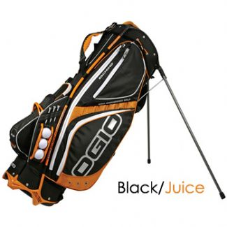 EDGE CARRY STAND BAG 2008 BLACK/FIRE