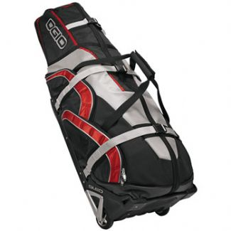 MONSTER GOLF TRAVEL BAG Black/Pinstripe