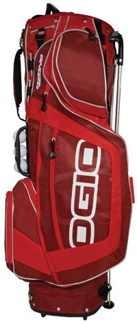 OZONE GOLF CARRY STAND BAG Copper Check