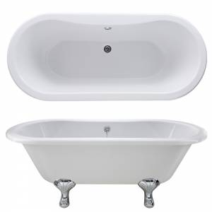 1700 Kingsbury Double Ended Freestanding Bath