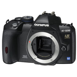 olympus E520 TWIN KIT product image