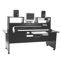 Omnirax WDF freestanding workstation desk - CLICK FOR MORE INFORMATION