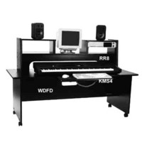 Omnirax WDFD deep freestanding workstation desk. - CLICK FOR MORE INFORMATION