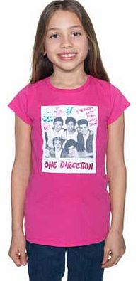 One Direction Pink T-Shirt - 6-7 Years product image