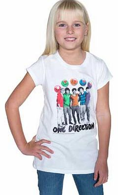One Direction White T-Shirt - 10-11 Years product image