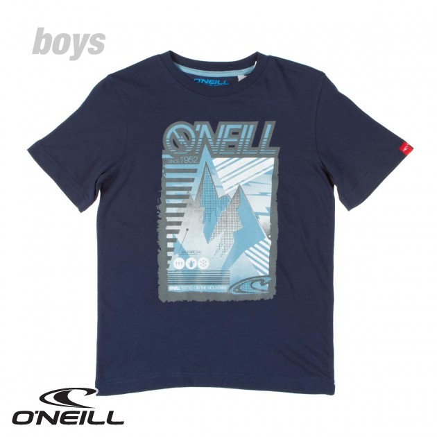 O`Neill Boys ONeill Willson T-Shirt - Dark Denim product image