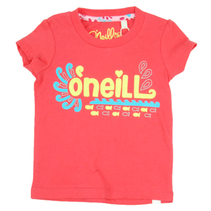 O`Neill Girls Girls Toddler ONeill Aisha T-Shirt. Neon Red product image