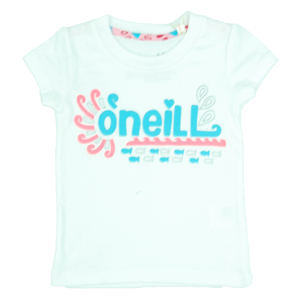 O`Neill Girls Girls Toddler ONeill Aisha T-Shirt. Super White product image