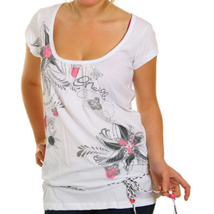 ONeill Ladies Terrala Long tee shirt - Super White