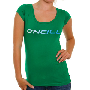ONeill Ladies Tindy Tee shirt - Green