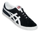 Onitsuka Tiger Fabre BL-S OG Black/White Suede Trainers Colourway; Black White Black suede upper with trademark Asics Onitsuka side stripes in white. White synthetic midsole with brown outsole. FABRE is derived from the Fast Break move in basketball. - CLICK FOR MORE INFORMATION