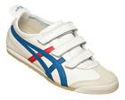 Mexico 66 Baja White/Blue Leather