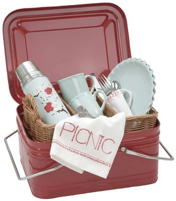 Optima Blyton Picnic Basket - 2 Person product image