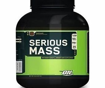 Optimum Nutrition Serious Mass, Chocolate - 2720g by Optimum Nutrition M