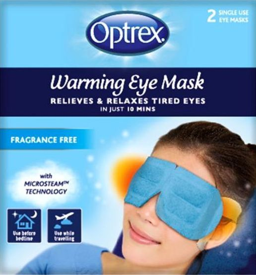 Optrex, 2102[^]0139425 Warming Eye Mask Unscented 2 Pack