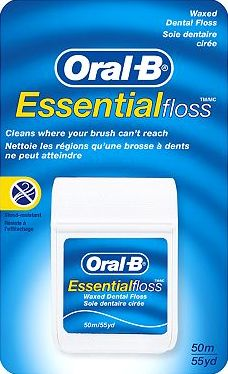 Oral B, 2041[^]10084382 Essential Waxed Floss 50m 10084382